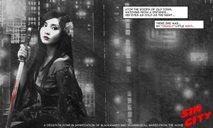 Alodia as deadly little Miho by G3Tan