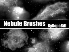 Nebule Brushes by KopaBill-Stock