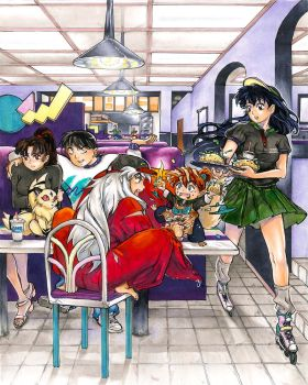 InuYasha: Taste of the '90s! by TGA-Tsurugi