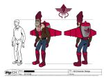 Venture Bros Villain Design 1 by Gouacheman