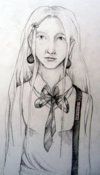 Luna Lovegood by cocoa-forget-me-not