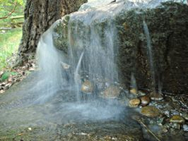 Small Waterfall Stock 2 by OneLifeStock