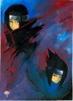 The uchiha brothers by creamycafelatte