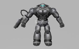 SHIELD Mandroid (MarvelFF 3D Model) by Pitermaksimoff