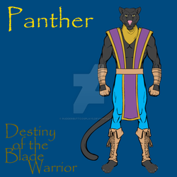 Panther - Ref. Sheet by RudderbuttCosplays