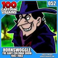 100 Cartoon Villains - 052 - Hornswoggle! by CreedStonegate