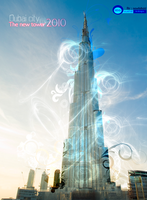 The new tower of Dubai city by Newfelhdd