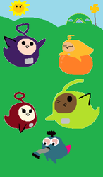 Cutie Drops: Teletubbies by great-crossover