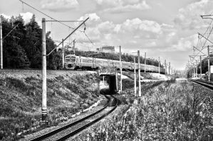 electric train ED4 by Lineageman