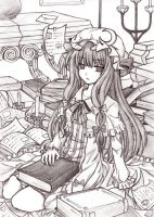 Patchouli Knowledge by abyss-crimson