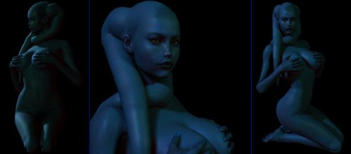 Daru Shadowplay Twi'lek by Giolon