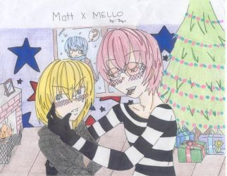 Matt and Mellos Christmas Eve by Rhooj