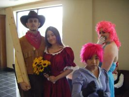 Mother 3 Cosplay Group-AN 2009 by DEDEDEJr