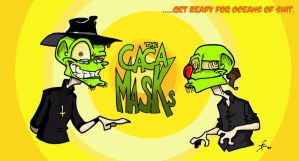 The Caca MasKs by Boredman