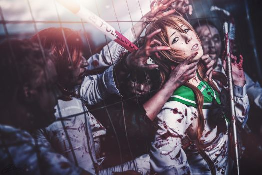 Rei Highschool of the Dead Cosplay by K-I-M-I