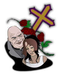 The rose around the cross by joaocouto