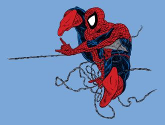 Spidey couleurs by louboumian