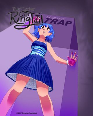 RingTail Ch 17 Cover by ninjapink