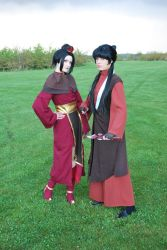 Fire Nation Girls by Rinaca-Cosplay