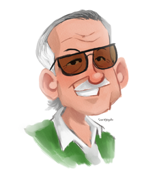 Stan Lee 1922-2018 by roemesquita