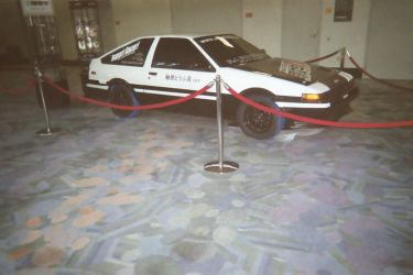 Initial D Trueno by Nomake-Wan