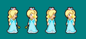 MLSS Rosalina Sprites design by PxlCobit