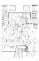 grimm fairy tales cover pencil by jFury