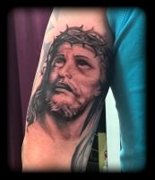Jesus by state-of-art-tattoo