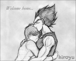 Vegeta and Bulma 4 by hiroyu732