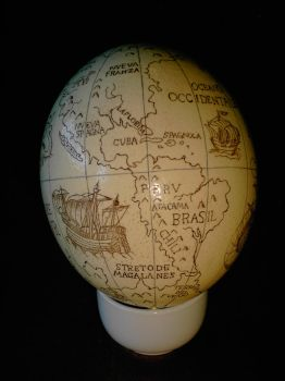 The Knies Globe - America by Panthaleon