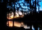 Caddo Sunset by badchess