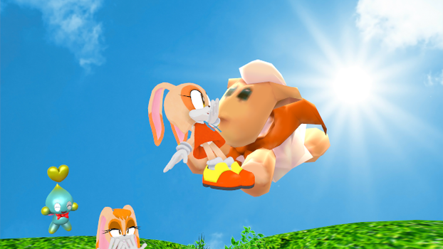 MMD - Super Sheep to the Rescue! by Harmony--Bunny
