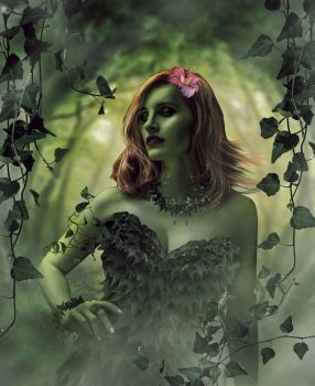 Jessica-Chastain-as-Poison-Ivy by ricktimusprime0825