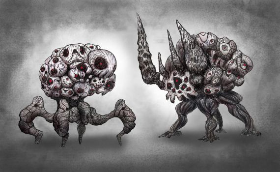 Multifaced Creeps by HIRVIOS