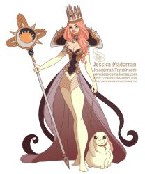 Character Design - Queen Bunny by MeoMai