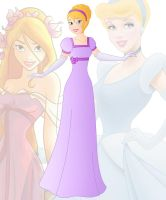 disney fusion: Cinderella and Giselle by Willemijn1991