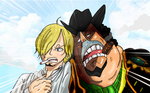 One Piece Chapter 887 Sanji Bege  Oven Colors by Amanomoon