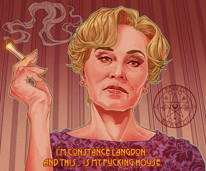 I'M JESSICA LANGE AND THIS IS MY FCKING SHOW by aquiles-soir