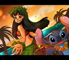 Hawaiian Pride by Yuckey