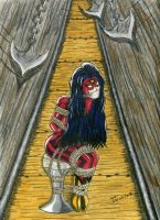 Spider Woman by gustorak