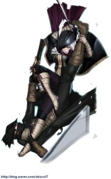 Lady Maria of the Astral Clocktower by okscsi7