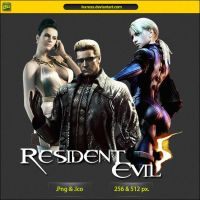 Resident Evil 5 - ICON v2 by IvanCEs