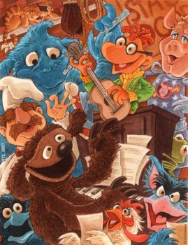 Muppet Music by RobbVision