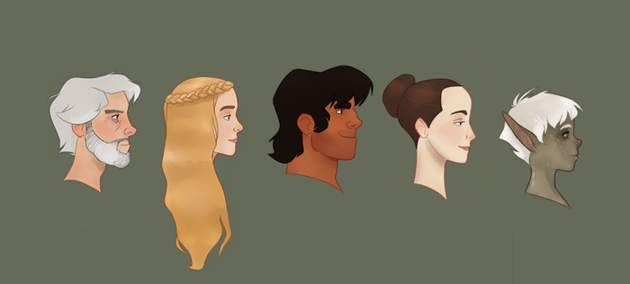 Profiles by MultiverseCafe