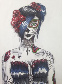 Day of the dead by Shannarawolf