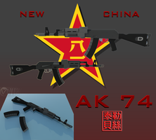 Ak 74 [Type 3 Assault Rifle] by Gwentari