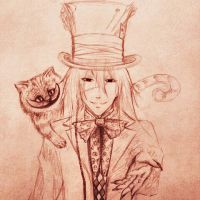 Mad Hatter (Unfinished) by acrevan