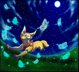 Chasing Midnight Butterflies by camychan