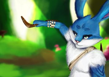I Bunnymund [Rise of the Guardians fan art] I by ArtyTheArtistDragon