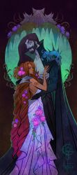 Persephone and Hades by UlaFish